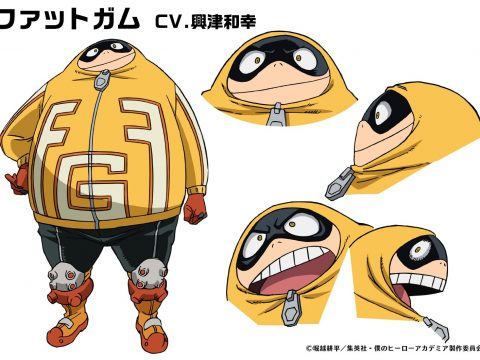 My Hero Academia Anime's 4th Season Casts Fat Gum