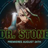 Dr. Stone Set to Rock Toonami August 24