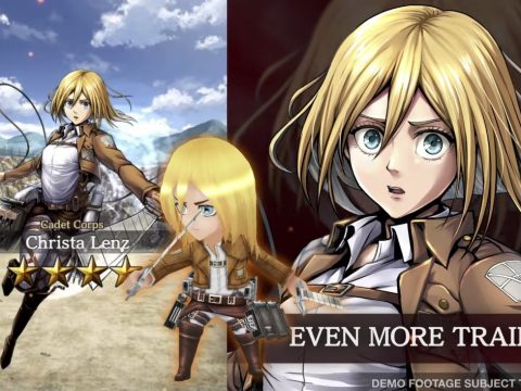Attack on Titan TACTICS Game Kicks Off Pre-Registration