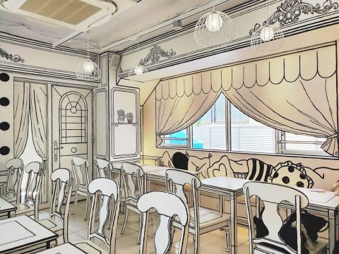 Live the Real-Life Manga Dream in This Amazing 2D Café