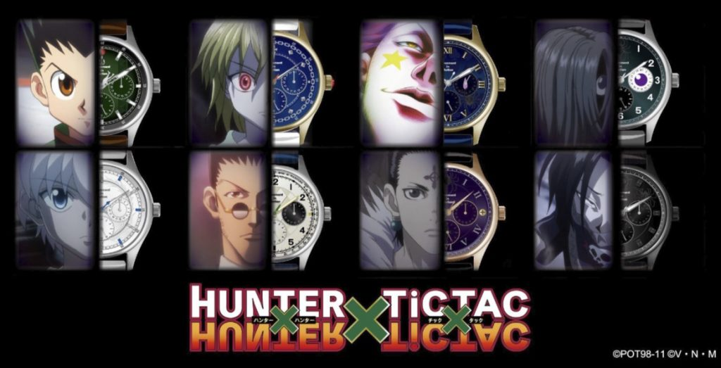 Wear Your Love for Hunter x Hunter with Fancy Watches