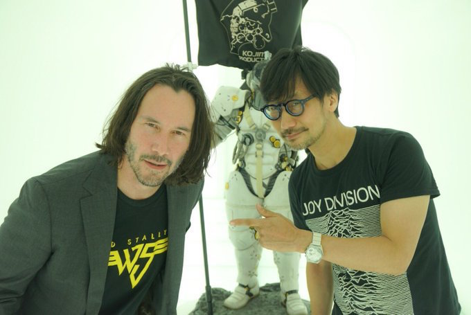 Keanu Reeves Pays Hideo Kojima a Visit, Expands Dream Team