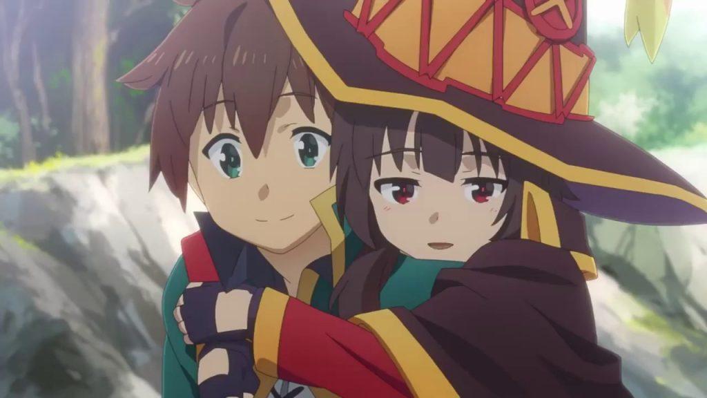 KONOSUBA Anime Film Showings Offer New Bonus Art by Original Illustrator