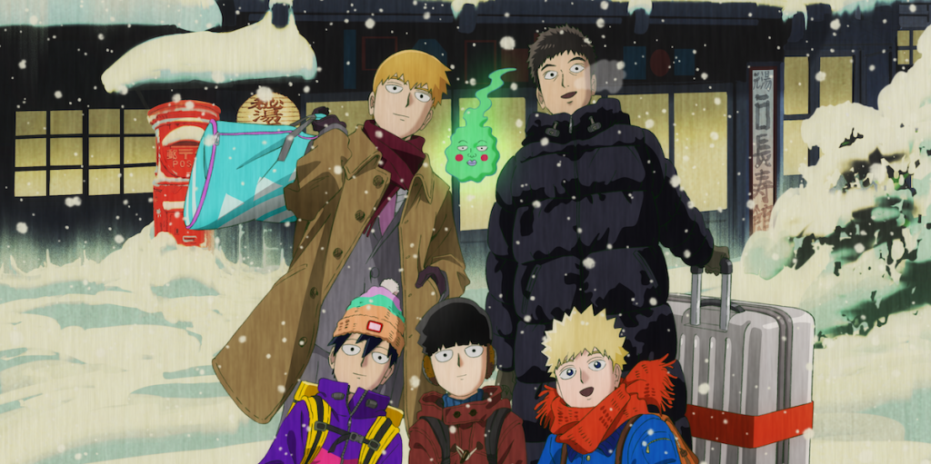 Mob Psycho 100 II OVA Heads to Funimation and Crunchyroll