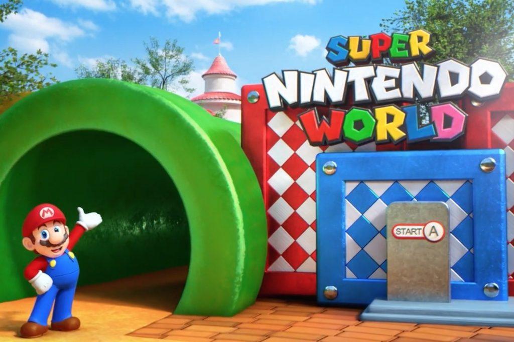 Super Nintendo World Opens in Osaka in Spring 2020