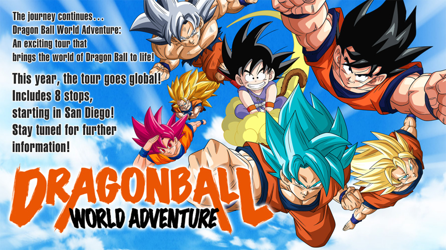 Dragon Ball World Adventure Heads to New York Comic-Con!