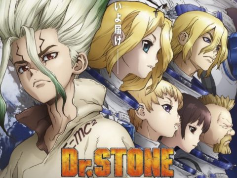 Dr. STONE Anime Heads to Space for New Key Visual