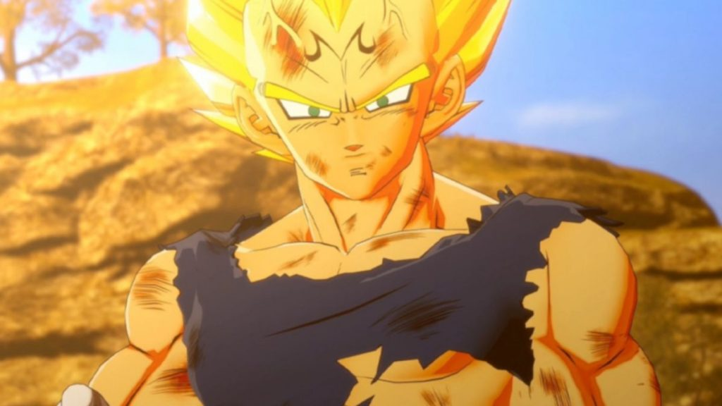 It's Vegeta Vs. Majin Buu in Dragon Ball Z: Kakarot Game Promo
