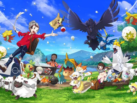Pokémon Sword and Shield Smash Record for Switch Game Sales