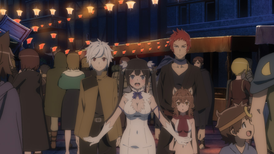 Is It Wrong to Try to Pick Up Girls in a Dungeon? Arrow of the Orion [Anime Review]
