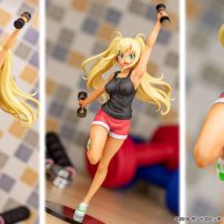 How Heavy Are the Dumbbells You Lift? Anime Comes to Life in Sakura Figure