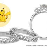 Tie the Knot with Pikachu Engagement, Wedding Rings