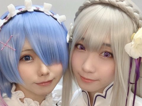 Meet Re:ZERO's Official Emilia and Rem Cosplayers