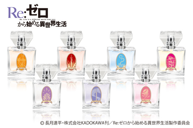 Spray on the Scents of Re:Zero with Branded Perfume Line