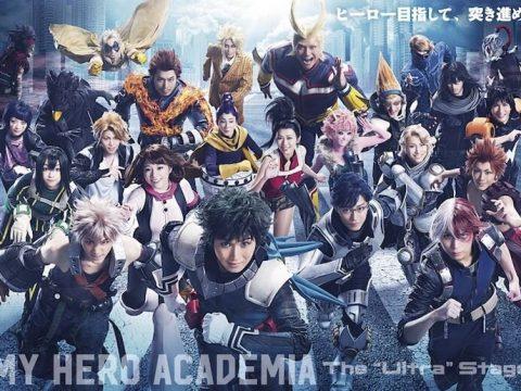 My Hero Academia Stage Play Unveils Massive Cast Visual