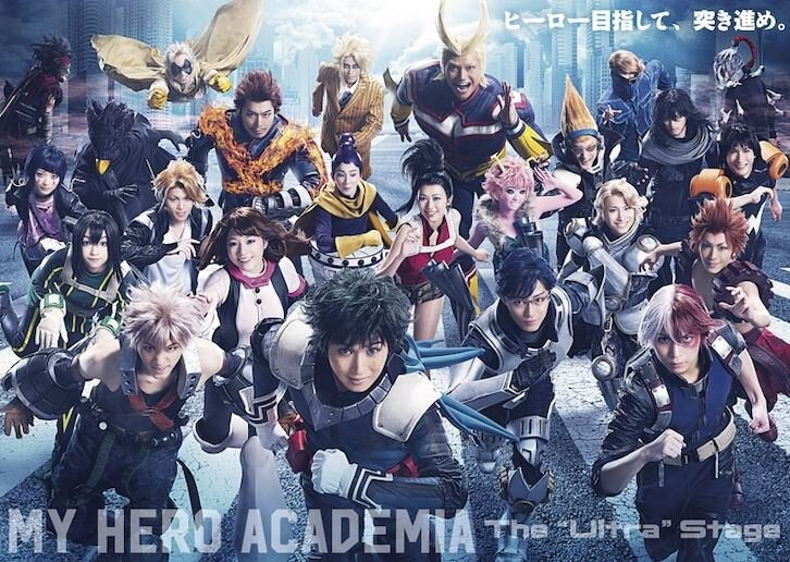 My Hero Academia Stage Play Unveils Massive Cast Visual