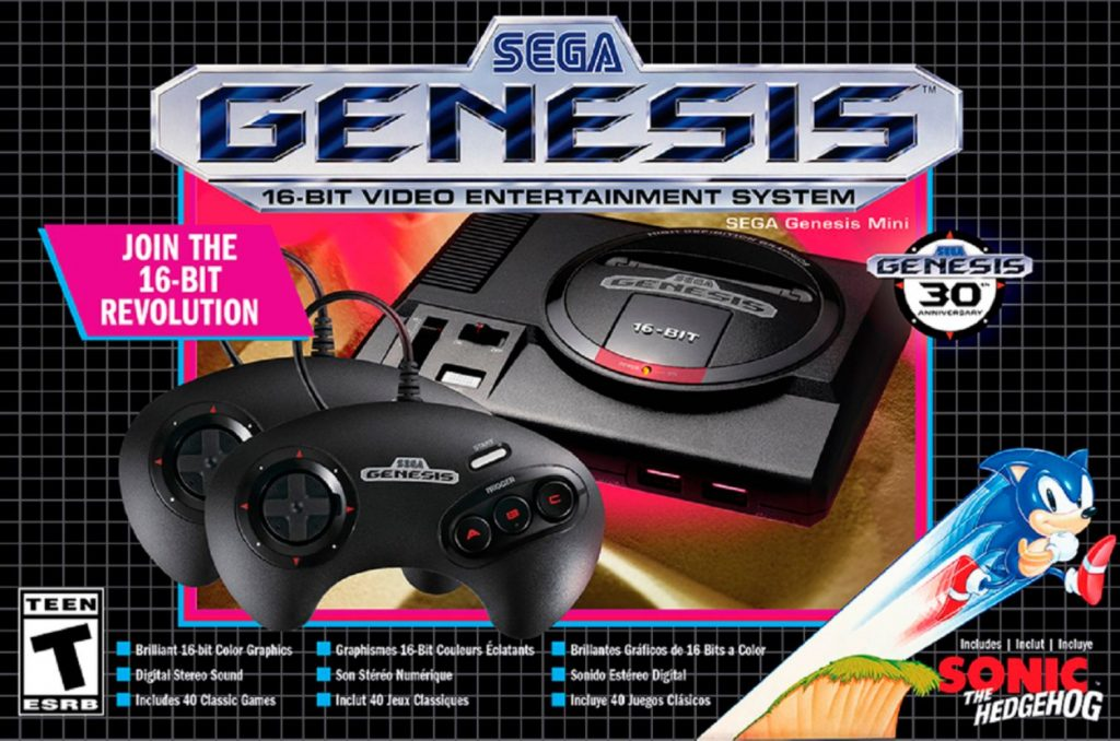 Genesis Mini is the New Reigning Champ of Mini Consoles