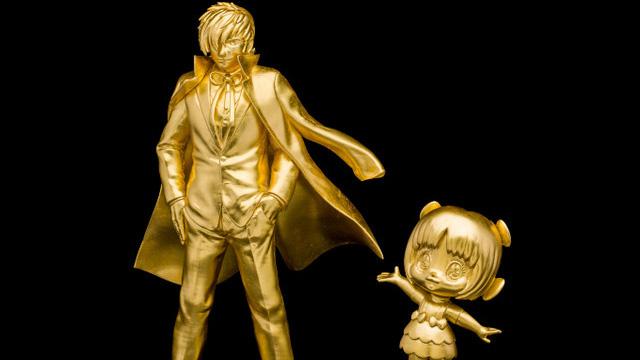Life-Size Gold Black Jack Statue Costs a Cool 22 Million Yen