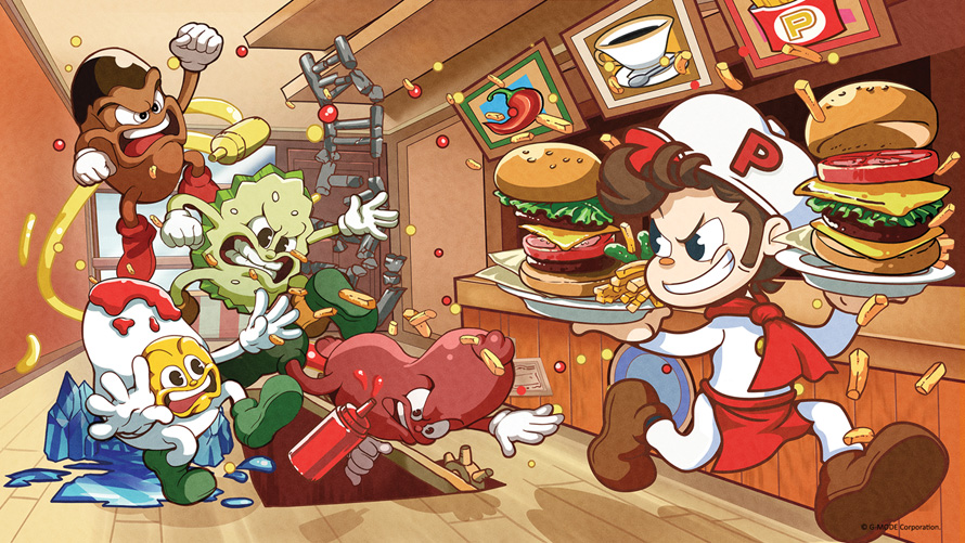 BurgerTime Party! [Game Review] – Order Up!