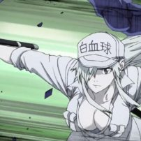 Cells at Work! Black Spinoff Manga Hyped in Intense Anime Promo
