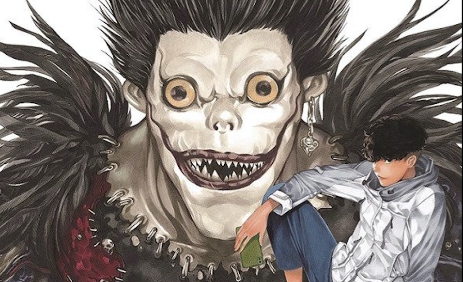 Death Note Manga's New Cover Illustration Revealed