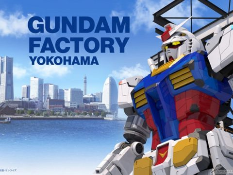 Life-Size Moving Gundam Statue Comes to Yokohama in October