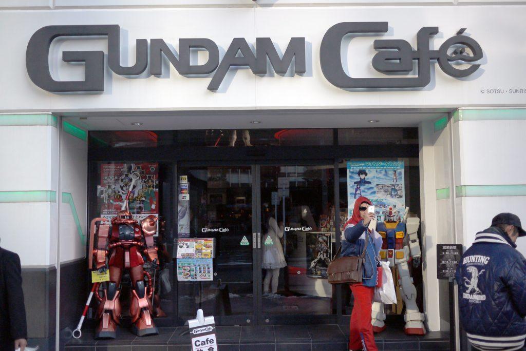 Tokyo Gundam Cafe to Get Major Expansion for July
