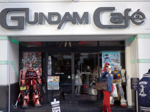 Tokyo Gundam Cafe to Get Major Expansion for July