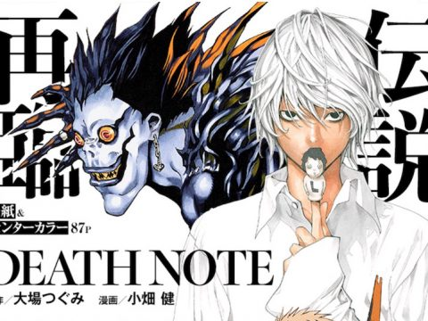 New Death Note Manga Chapter Will Be Available in English for Free