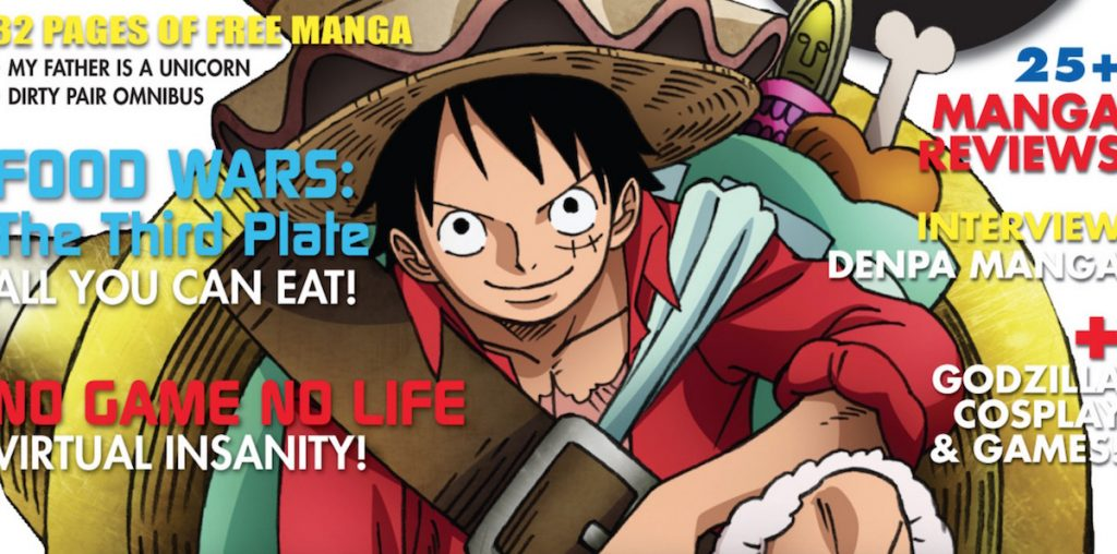 One Piece Stampede Takes Over the Latest Issue of Otaku USA!