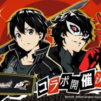 Persona 5 and Sword Art Online Join Forces in Game Collab