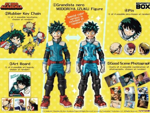 Banpresto Box Delivers Quality Assortment of My Hero Academia Goods
