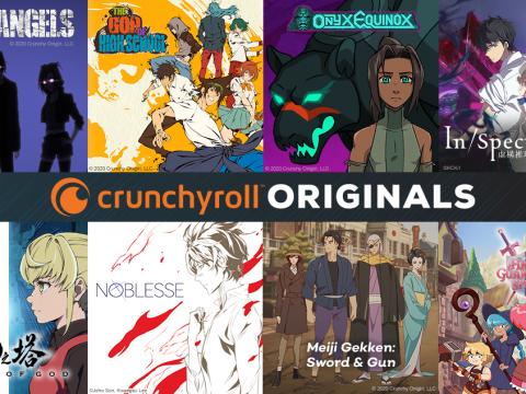 Crunchyroll Reveals Lineup of 8 Crunchyroll Original Projects