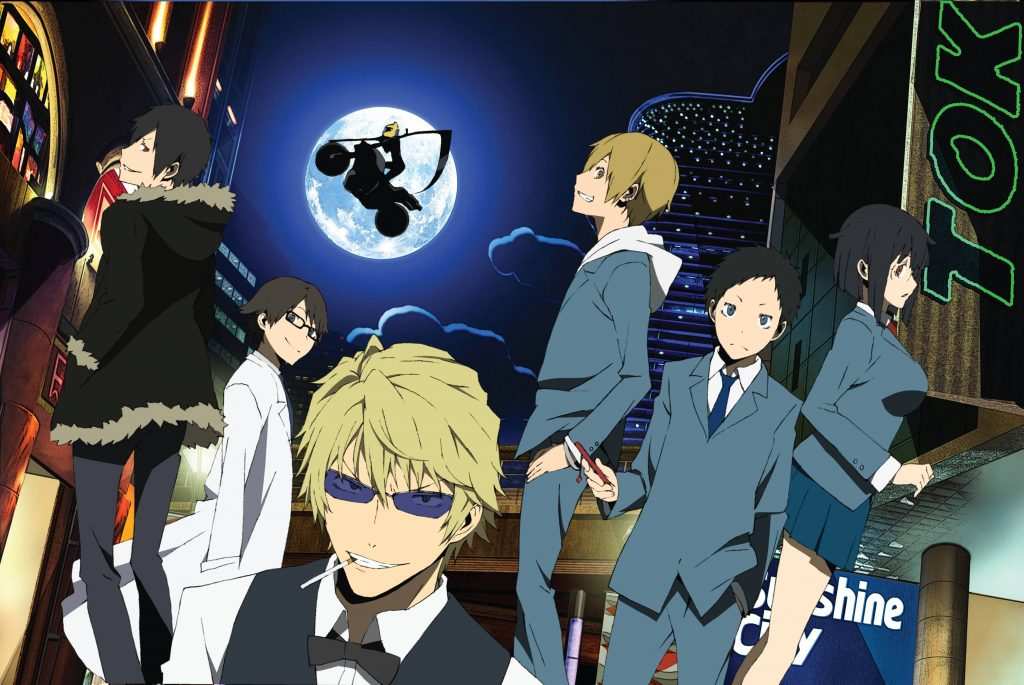 Durarara!! Stage Play Shows Off Its Cast Members in Costume
