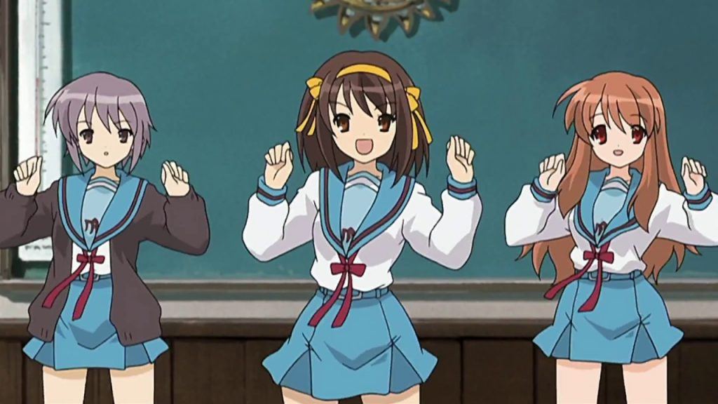 Haruhi Suzumiya is Now a University Entrance Exam Question in Japan