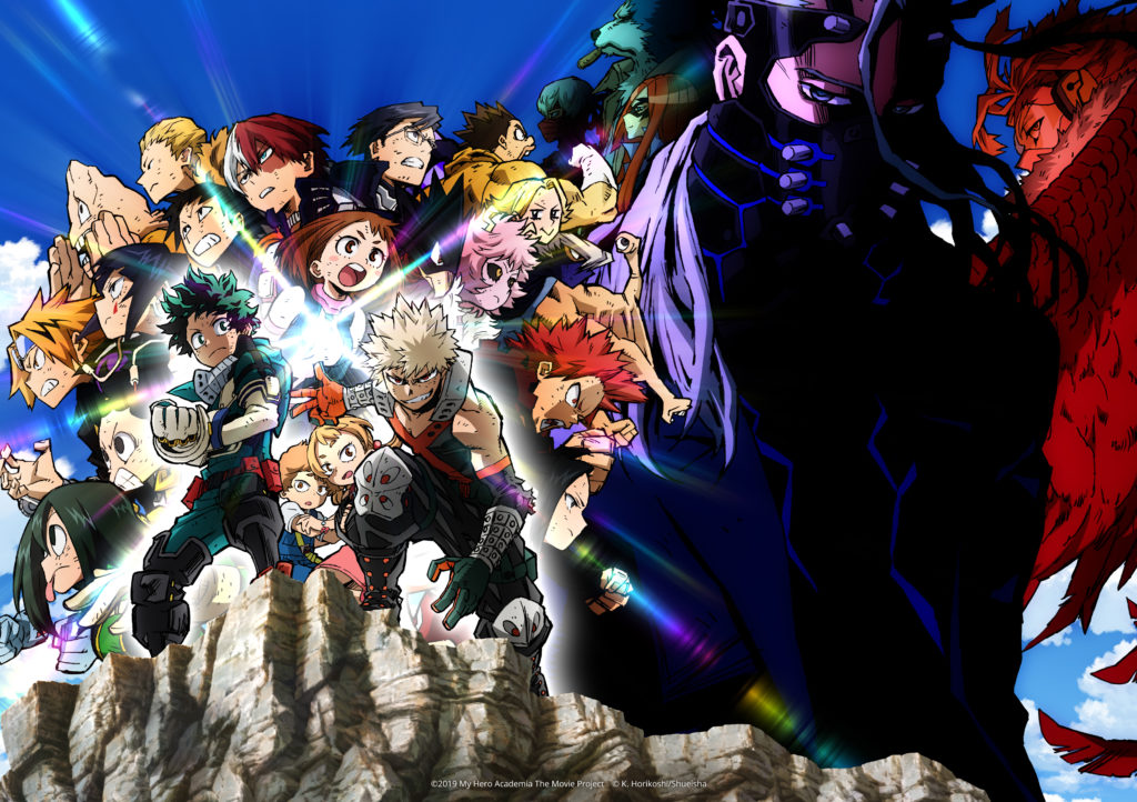 my hero academia heroes: rising