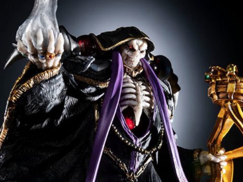 Overlord Novel Volume 14 Packs in Detailed Ainz Figure
