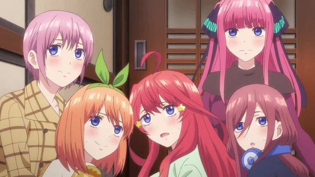 The Quintessential Quintuplets Do Some Attack on Titan Cosplay