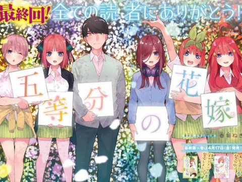 The Quintessential Quintuplets Manga Comes to a Close