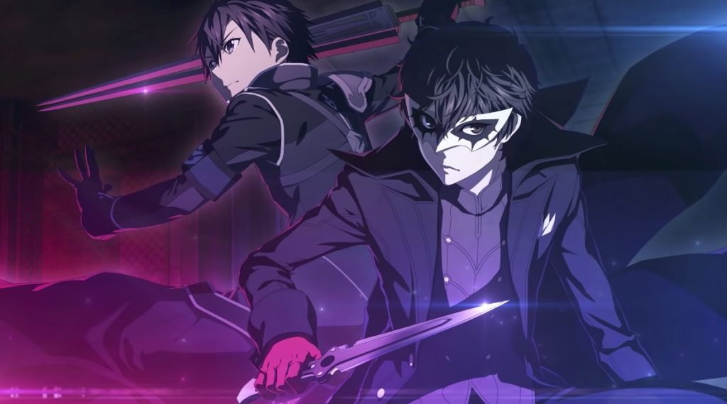 Sword Art Online x Persona 5 Crossover Kicks Off with Trailer
