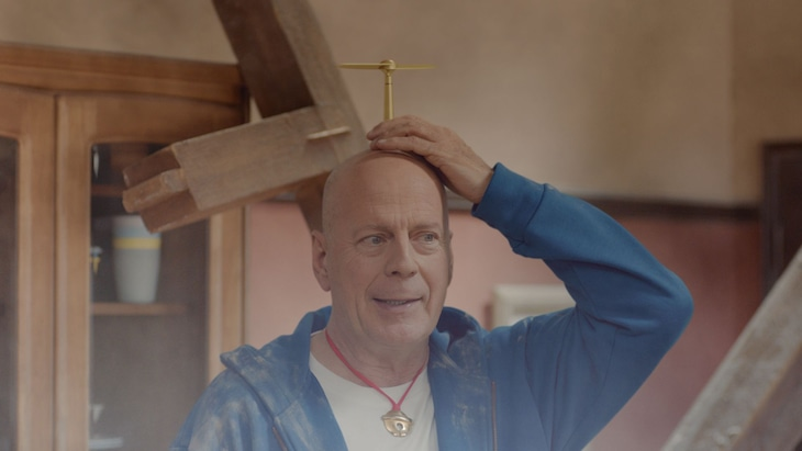 Bruce Willis Plays Doraemon in 5G Softbank Ad