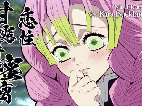 Demon Slayer Anime's Hashira Reveal Their English Voices