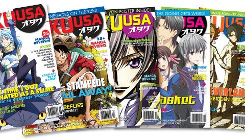 Stuck at Home? Go Digital with Otaku USA Magazine!