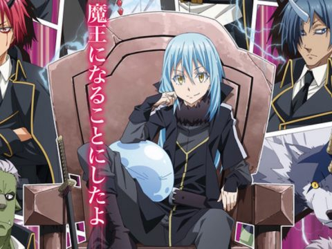 That Time I Got Reincarnated as a Slime Season 2 to Air in October 2020 and April 2021
