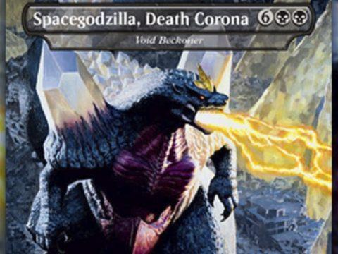 Godzilla Magic Card Name Changed, Too Close to Coronavirus for Comfort